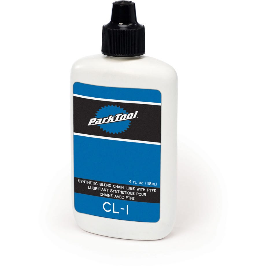 Park Tool CL-1 - Synthetic Blend Chain Lube With PTFE: 4 oz / 120 ml