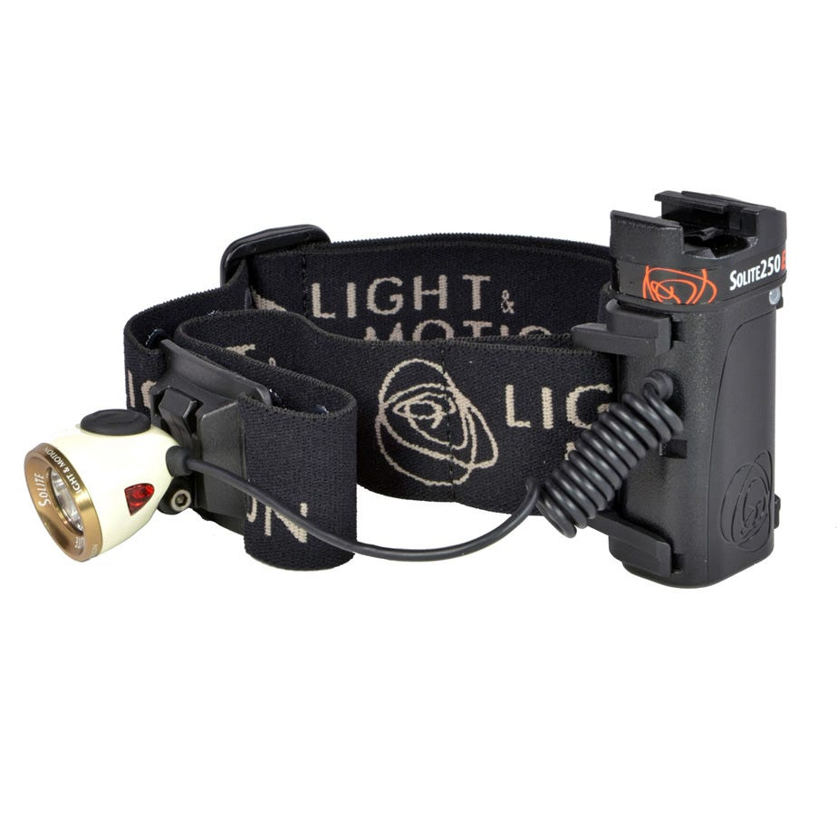 Light and Motion Solite 250EX light system