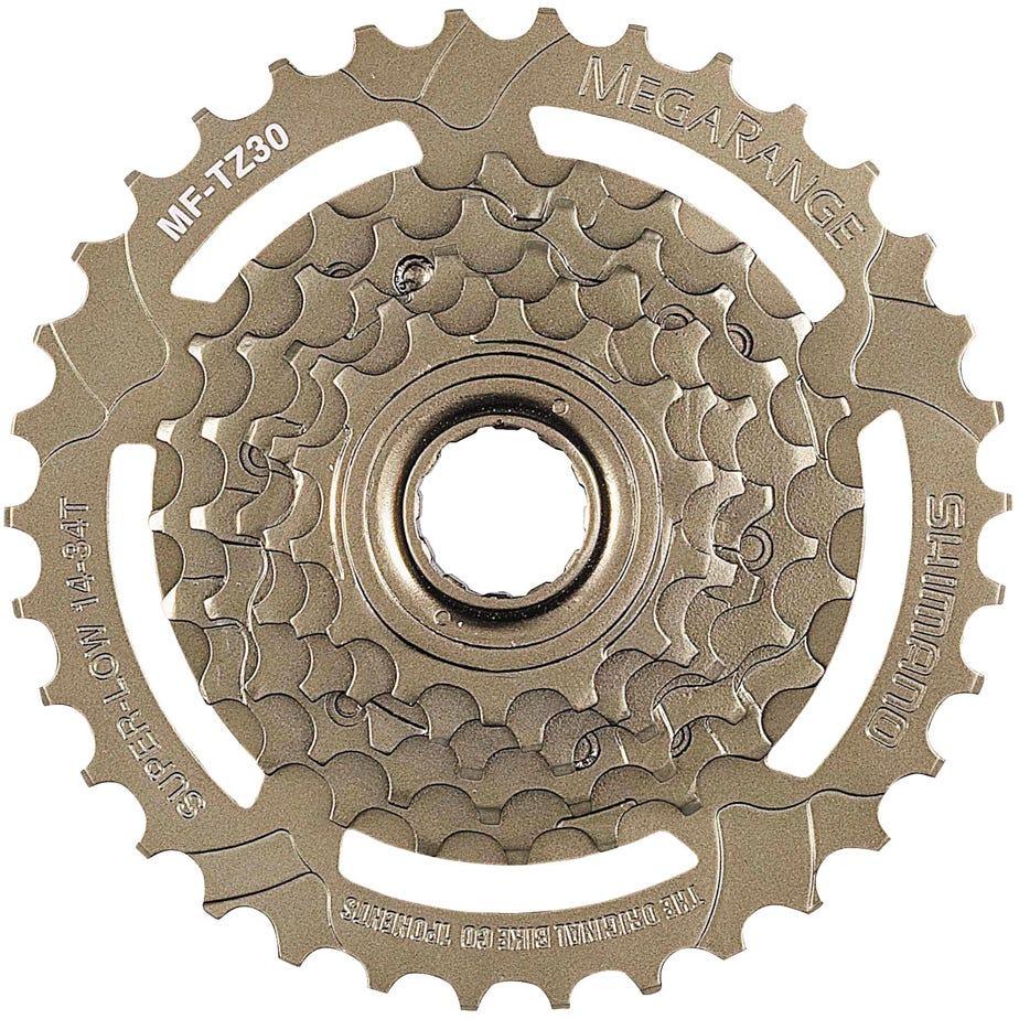 Shimano Tourney / TY MF-TZ30 6-speed multiple freewheel, 14-34 T MegaRange