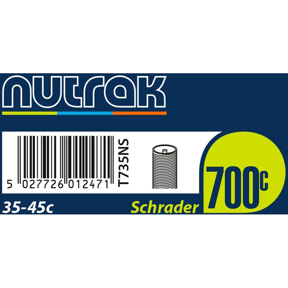 Nutrak 700 x 35 - 45C Schrader inner tube