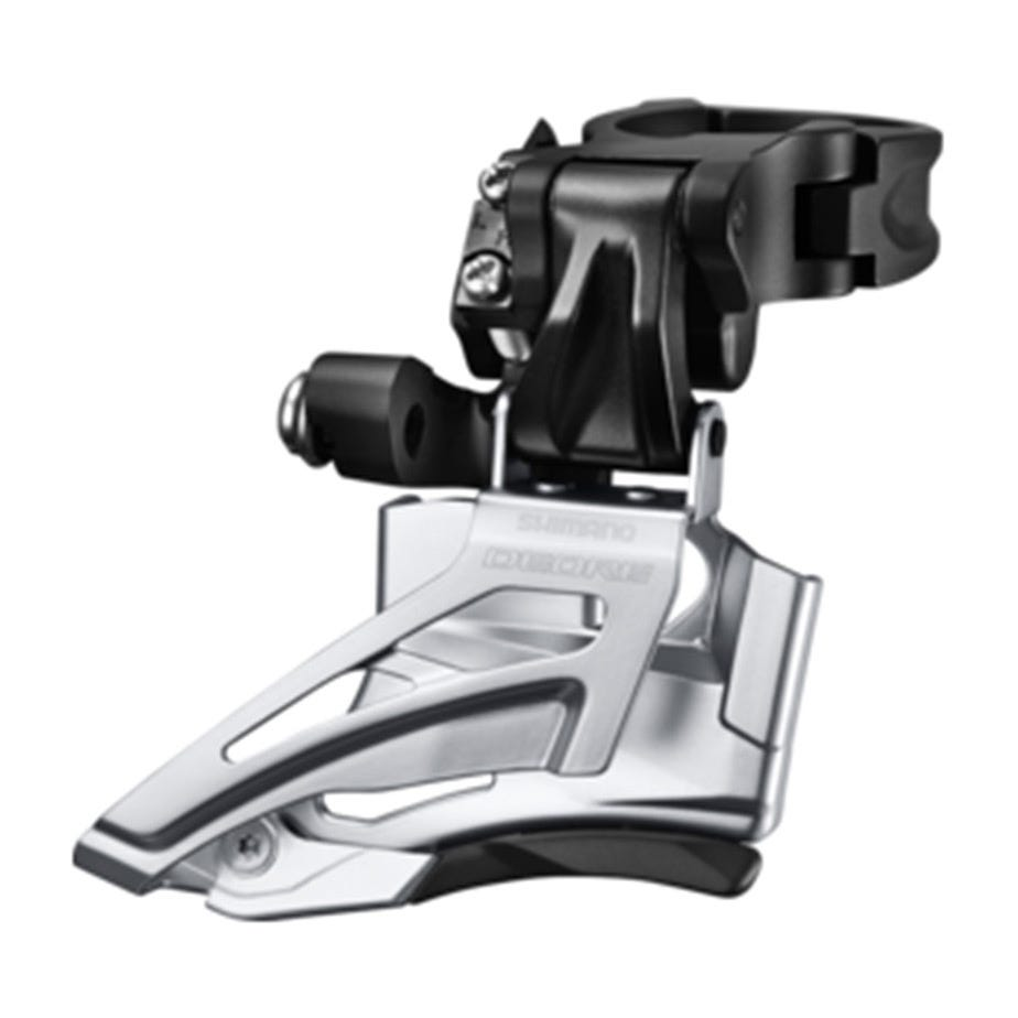 Shimano Deore Deore M618-H double front derailleur, high clamp, down swing, top pull