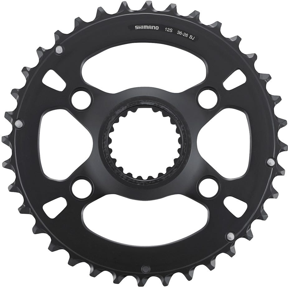 Shimano Spares FC-M7100-2 chainring, 36T-BJ for 36-26T