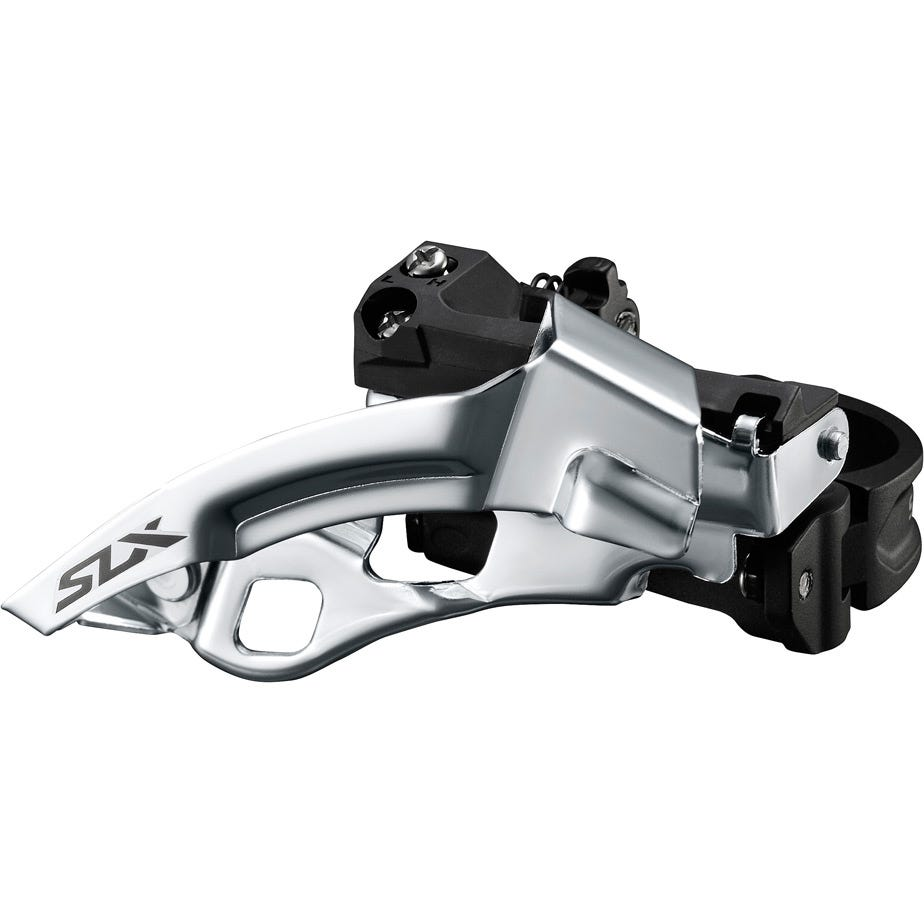Shimano SLX SLX M7005-L triple 10-speed front derailleur, low clamp, top swing, dual-pull