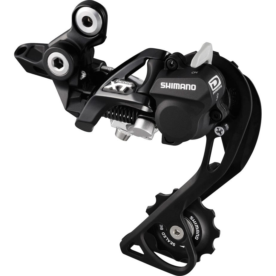 Shimano Deore XT RD-M780 XT 10-speed Shadow rear derailleur, top normal