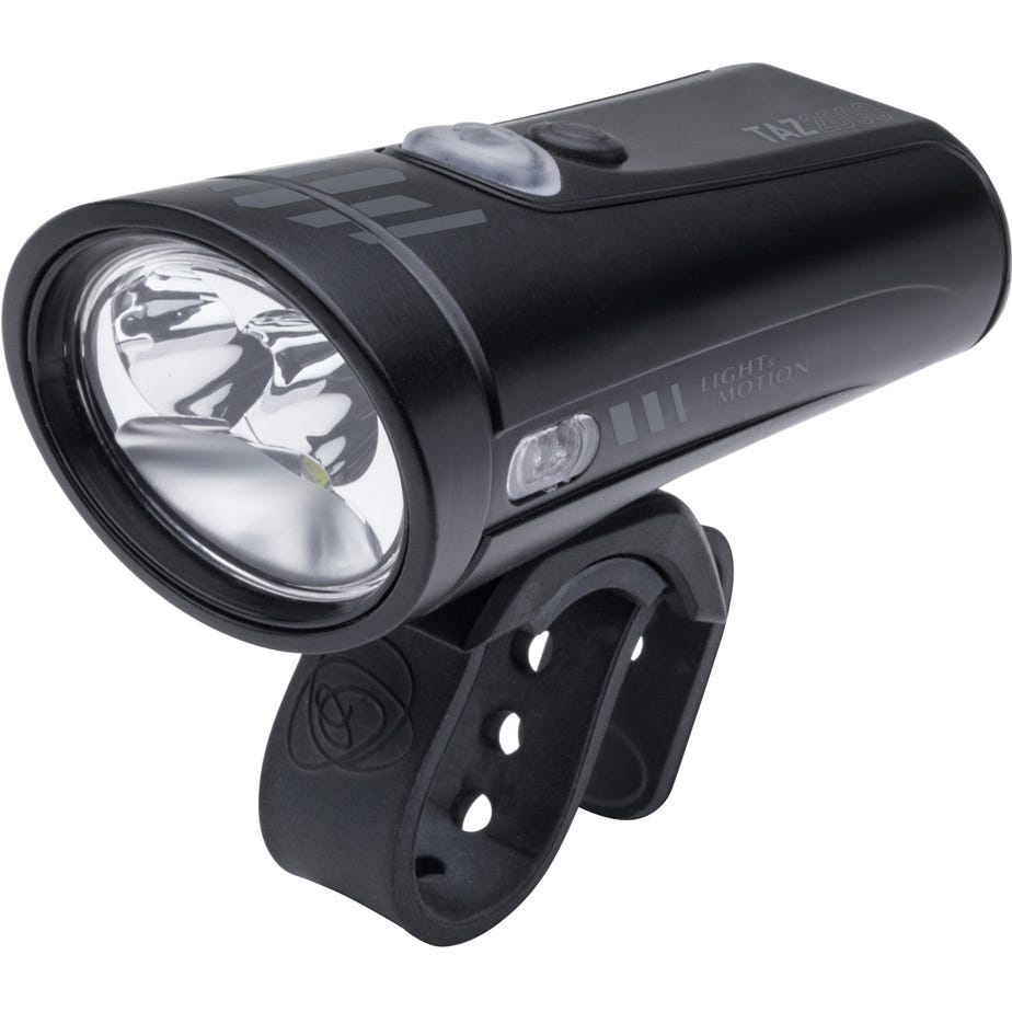 Light and Motion Taz 2000 - Black Pearl (Black/Black) light system