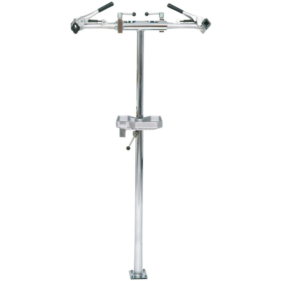 Park Tool PRS-221 - Deluxe Double Arm Repair Stand (With 100-3C Adjustable Linkage Clamps)