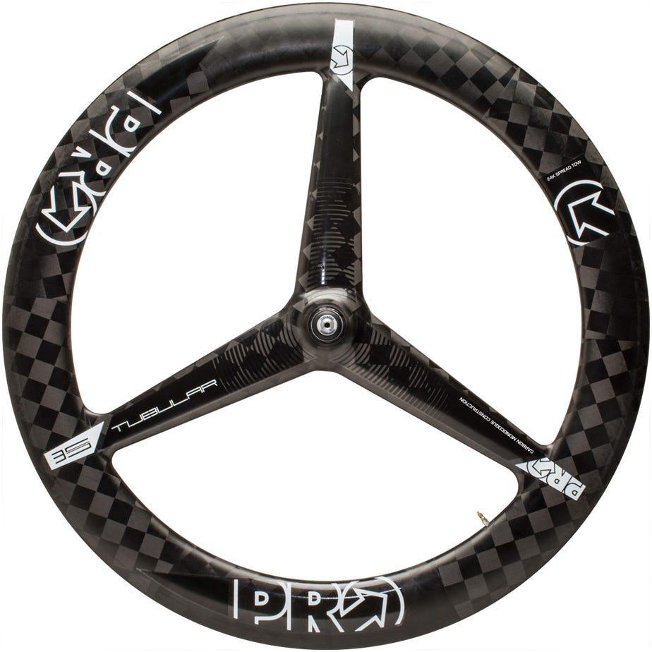 PRO Carbon Textreme 3-spoke wheel - front - tubular