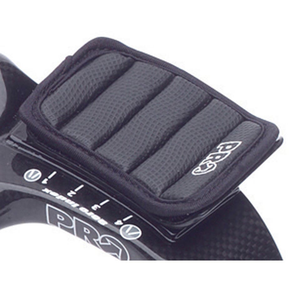 PRO Missile aerobar gel arm rests carbon time trial