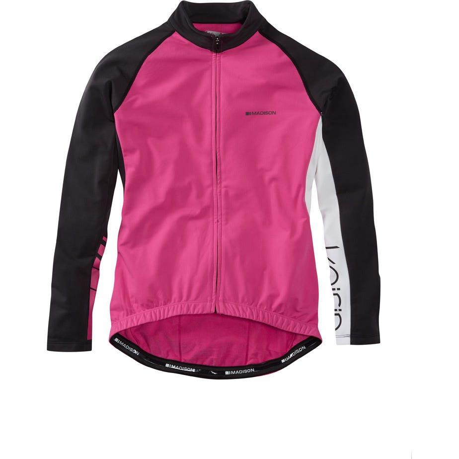 Madison Keirin women's long sleeve thermal jersey
