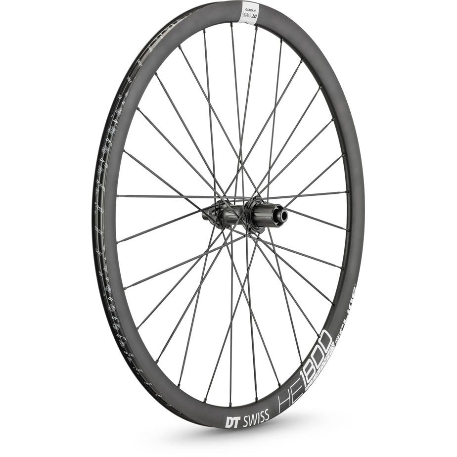 DT Swiss HE 1800 HYBRID disc brake wheel, clincher 23 x 20 mm, rear