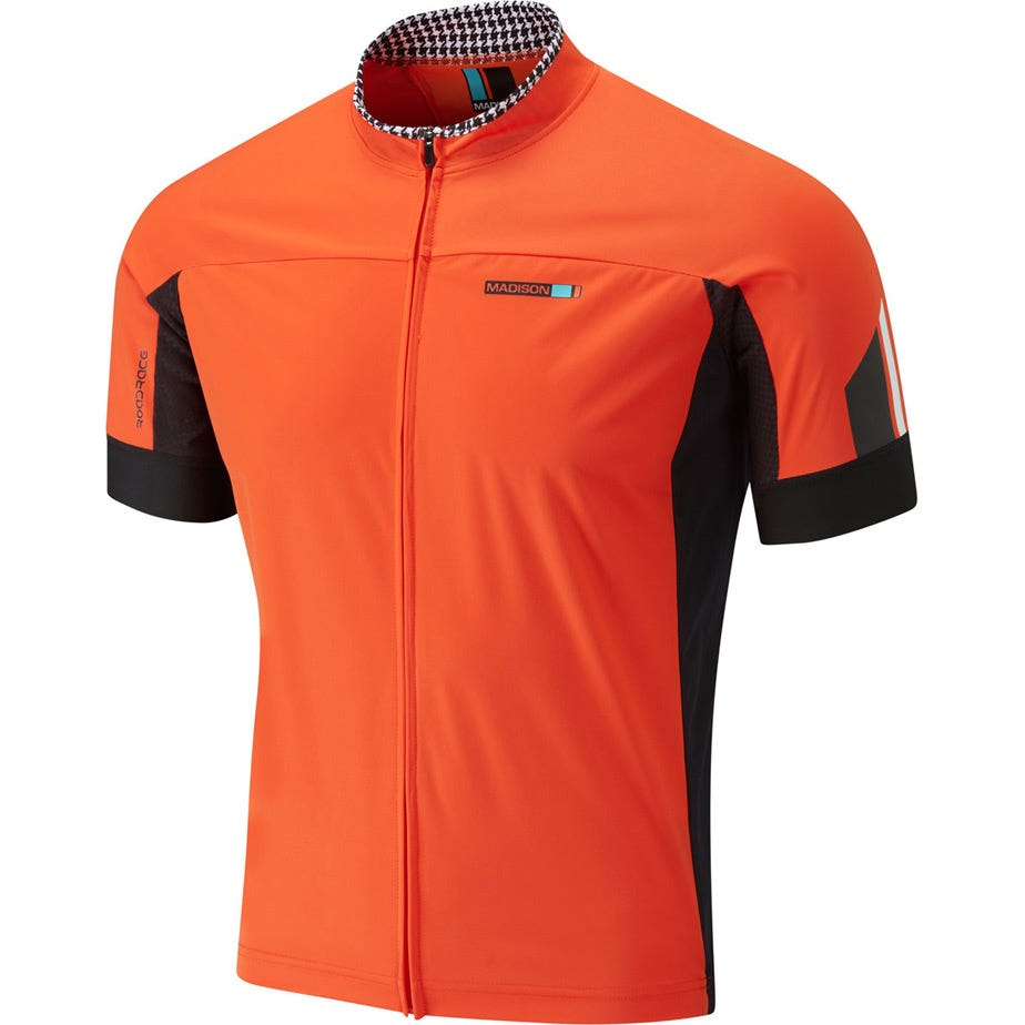 Madison RoadRace men's windtech short sleeve jersey