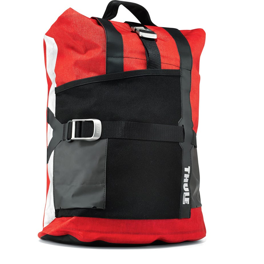 Thule Pack'n Pedal commuter pannier universal red
