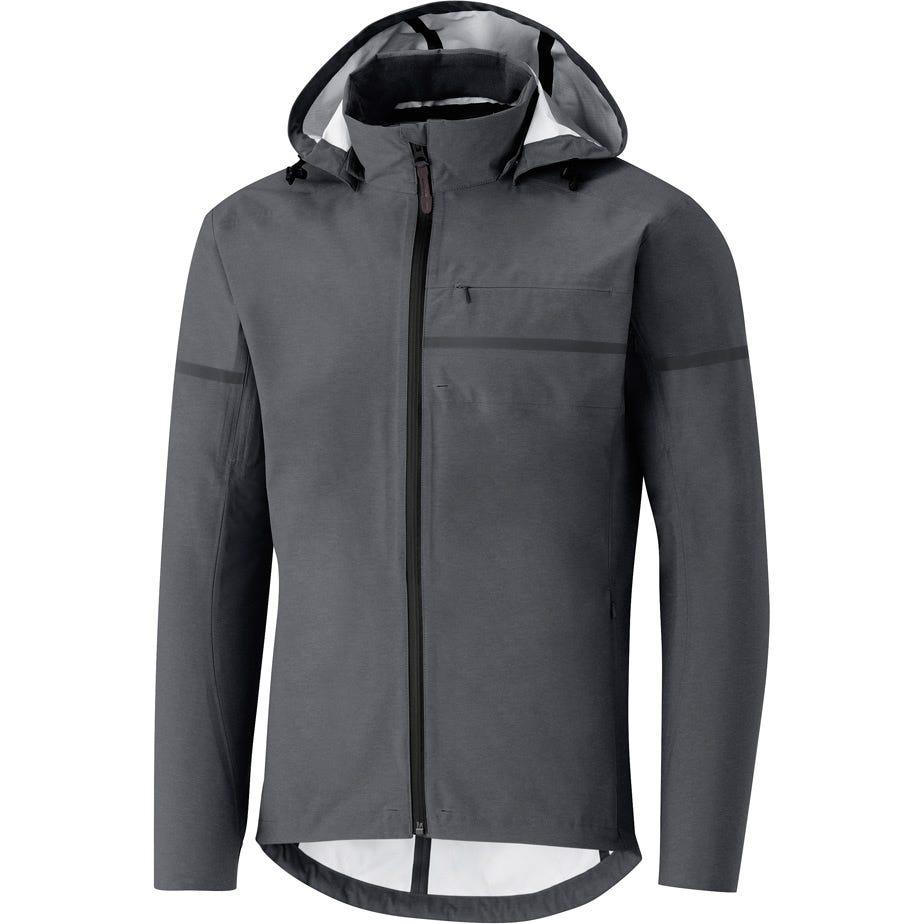 Shimano Clothing Men's Transit Hardshell Jacket