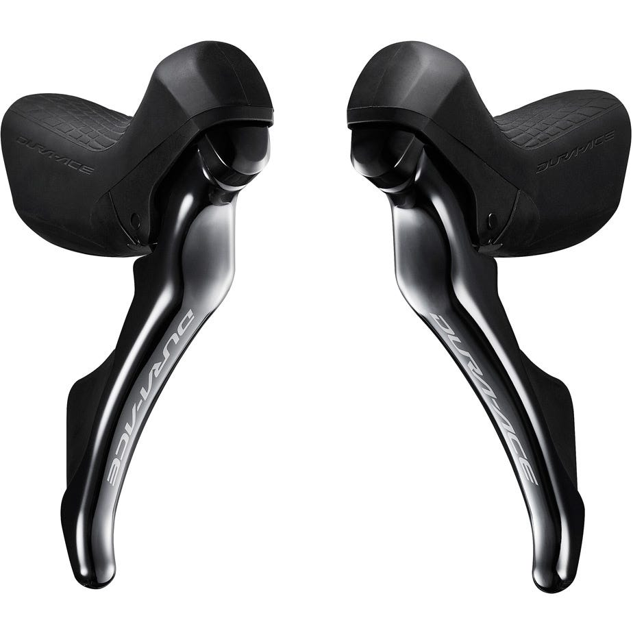 Shimano Dura-Ace ST-R9100 Dura-Ace double mechanical 11-speed STI levers, pair