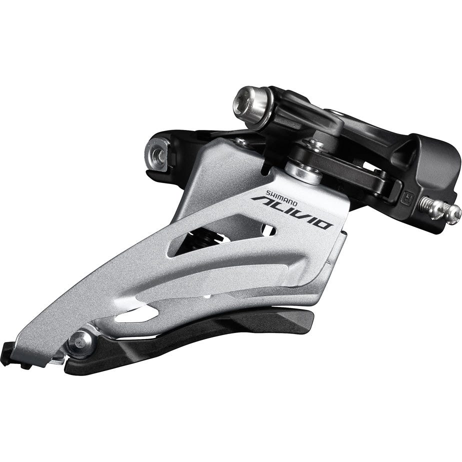 Shimano Alivio FD-M4020 Alivio double front derailleur, mid clamp, side swing, chainline 51.8mm