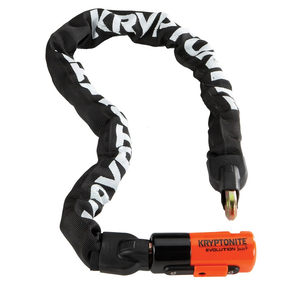 Kryptonite Evolution 1090 Integrated Chain - 10 mm X 90 cm Sold Secure Gold