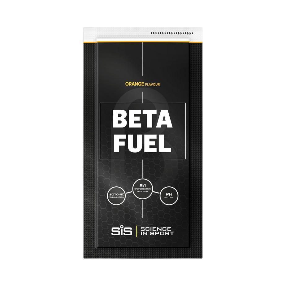 Science In Sport BETA Fuel energy drink powder orange 84 g sachet