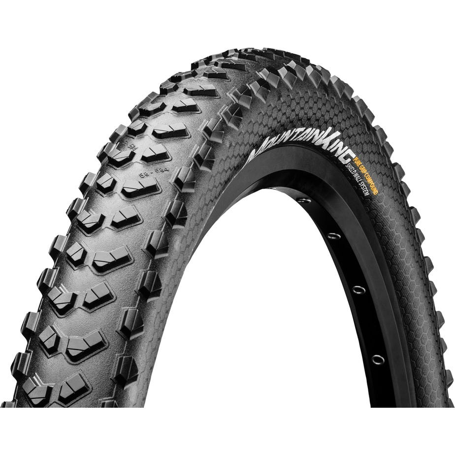 "Continental Mountain King III 27.5 x 2.6"" PureGrip ShieldWall folding"