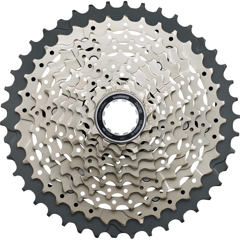 Shimano Deore CS-HG500 10-speed cassette 11 - 42T