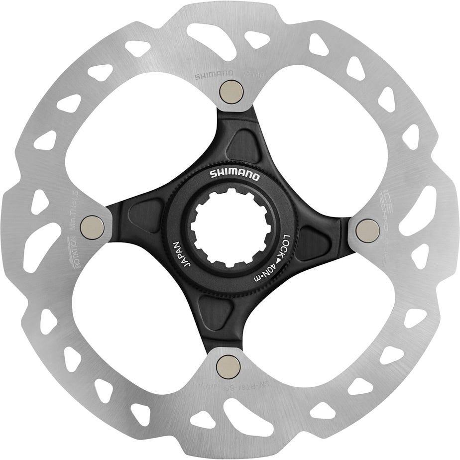 Shimano Deore XT XT and Saint SM-RT81 Ice Tech Centre-Lock disc rotor