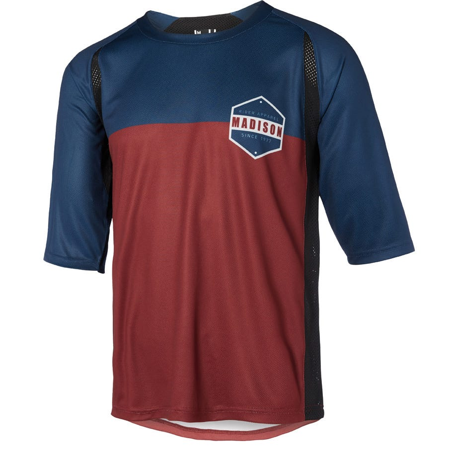 Madison Alpine men's 3/4 sleeve jersey