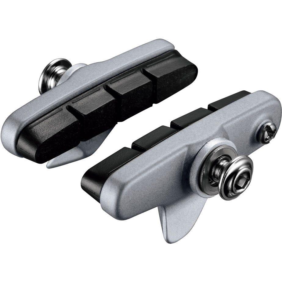 Shimano Spares BR-5800 R55C4 Cartridge type brake shoe set, Pair, Silver