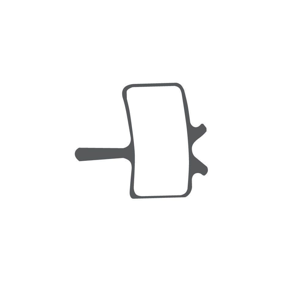Aztec Organic disc brake pads for Avid Mechanical callipers