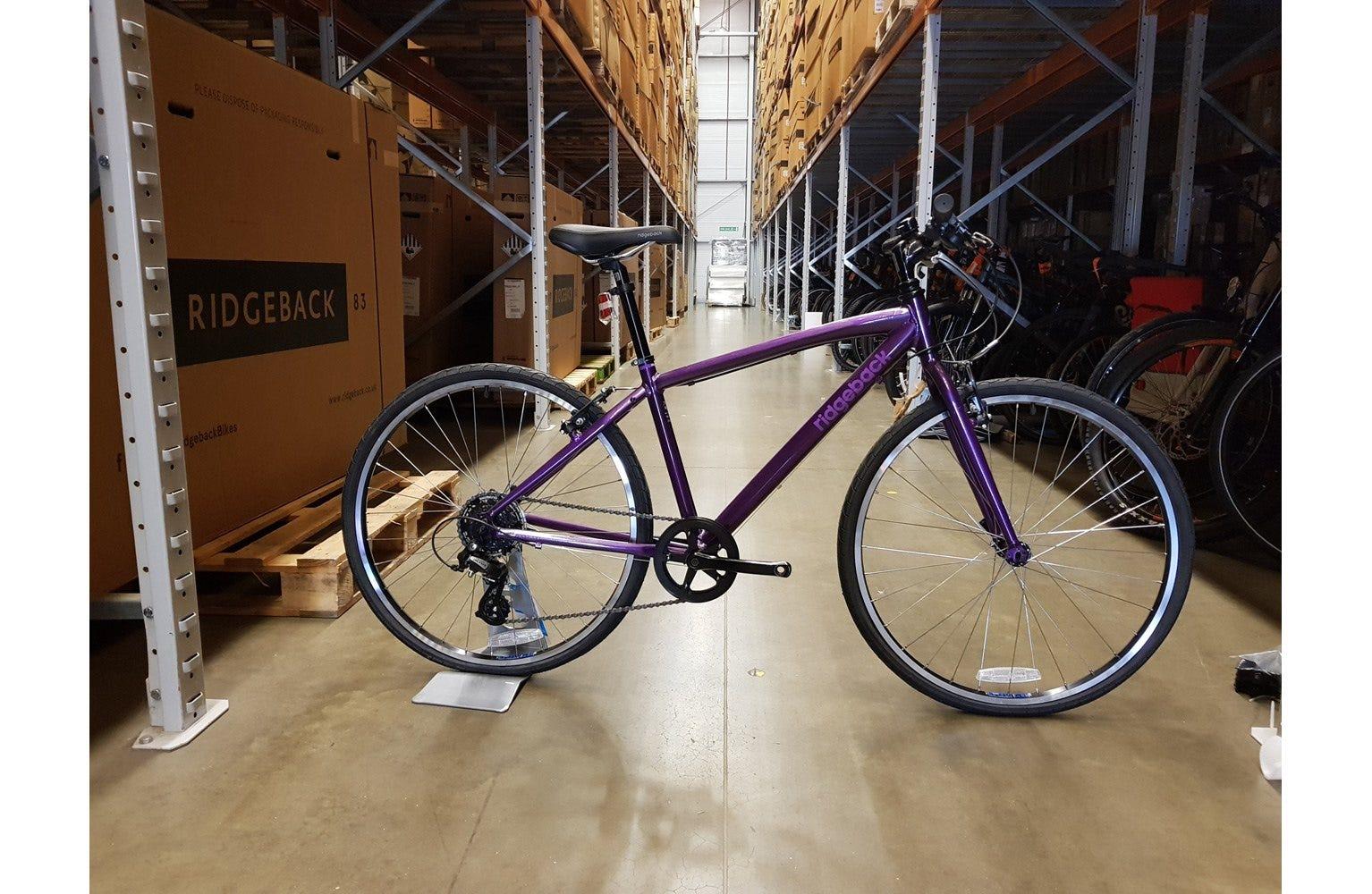 Ridgeback Dimension 26 inch bike purple Ex Display