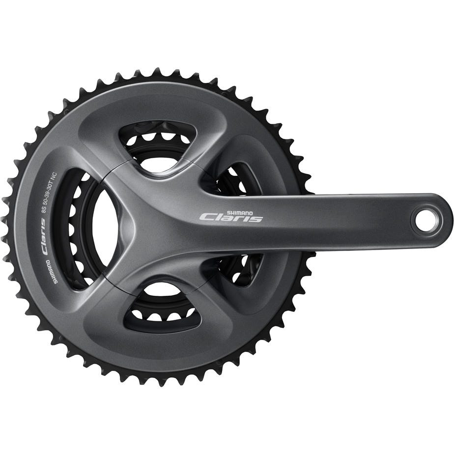 Shimano Claris FC-R2030 Claris triple chainset, 8-speed - 50 / 39 / 30T