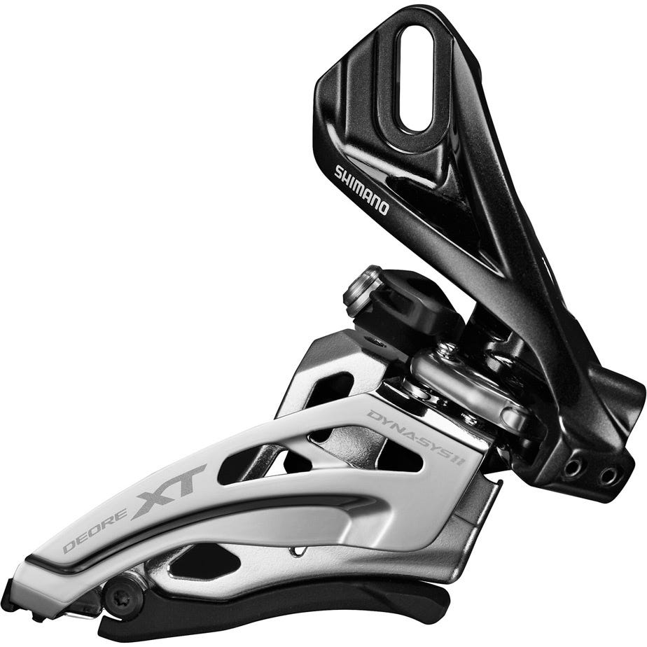 Shimano Deore XT Deore XT M8020-D double front derailleur, direct mount, side swing, front pull