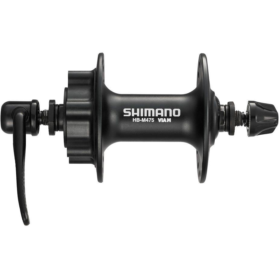 Shimano Deore HB-M475 disc front hub 6-bolt black