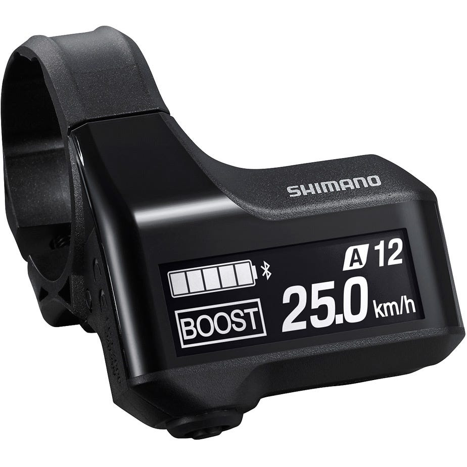 Shimano STEPS SC-E7000 STEPS cycle computer display, for 31.8 mm / 35.0 mm