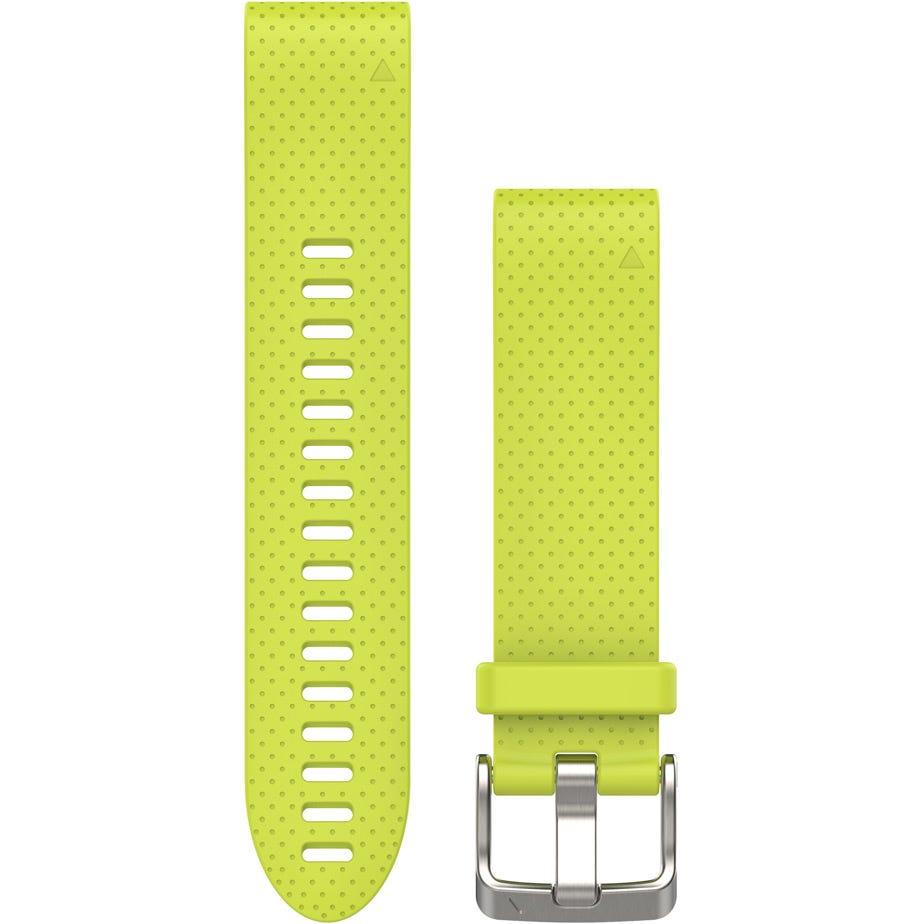 Garmin Fenix 5 - quickfit 22 watch band - amp yellow