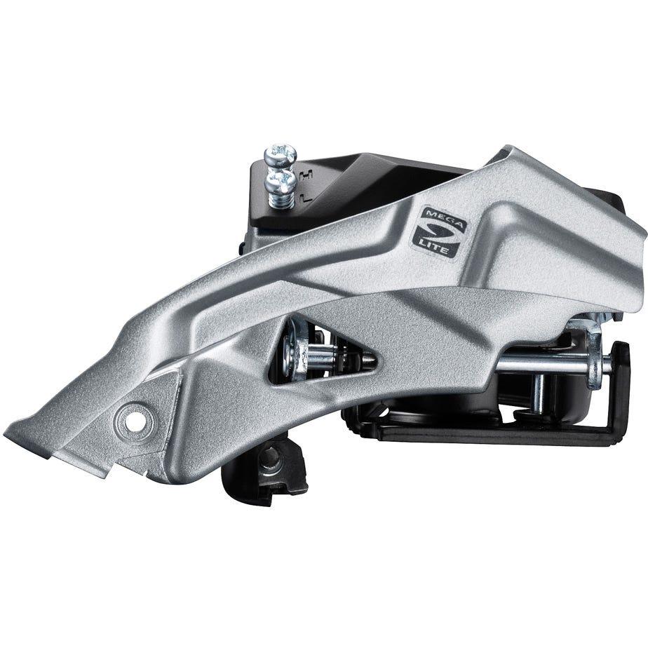 Shimano Altus FD-M2000 Altus 9-speed MTB front derailleur, top swing, dual-pull