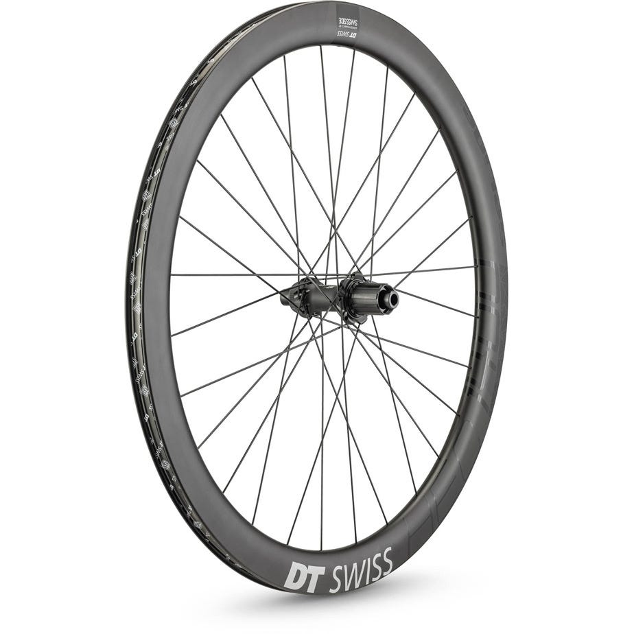 DT Swiss HEC 1400 HYBRID disc brake wheel, 47 x 19 mm rim, 142 x 12 mm axle, rear