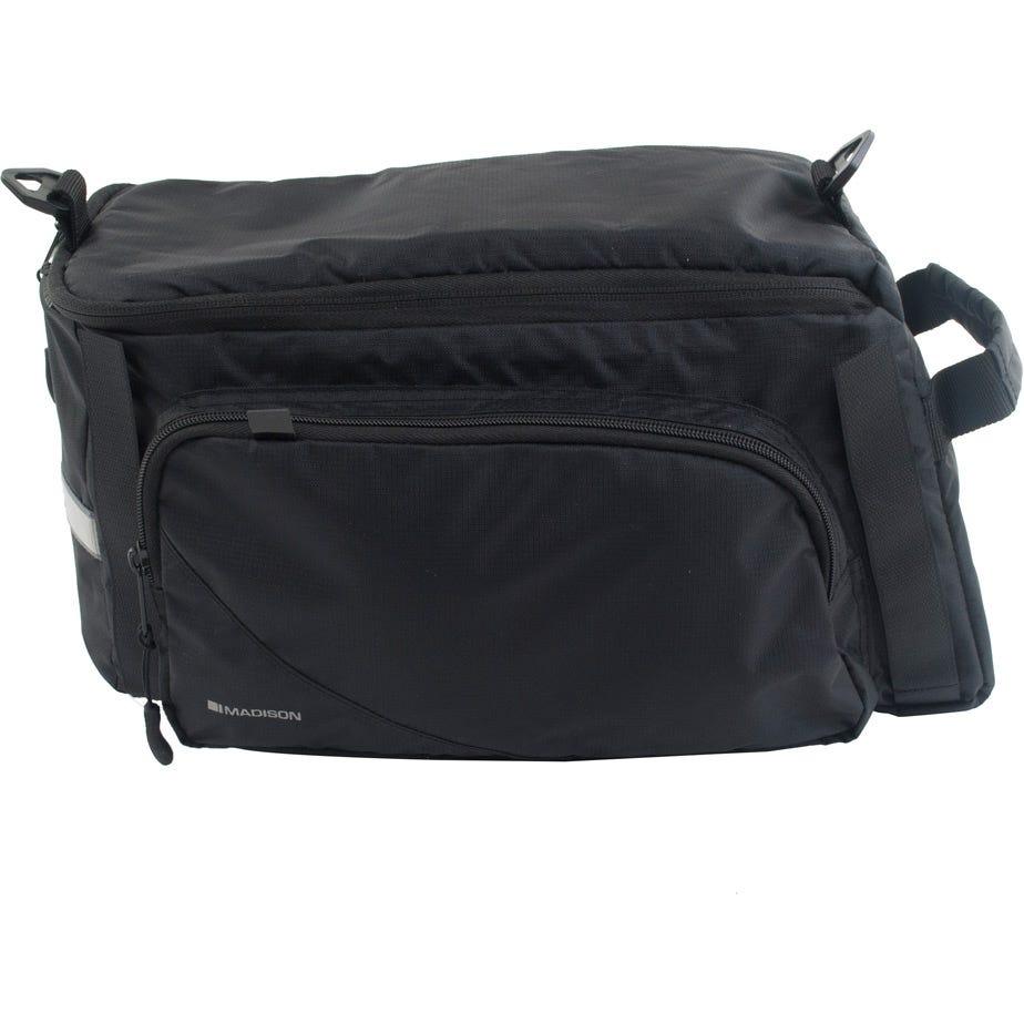 Madison RT10 rack top bag with side pocket