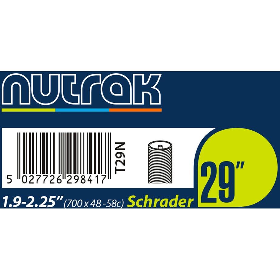 Nutrak 29 X 1.9 - 2.25 inch Schrader inner tube