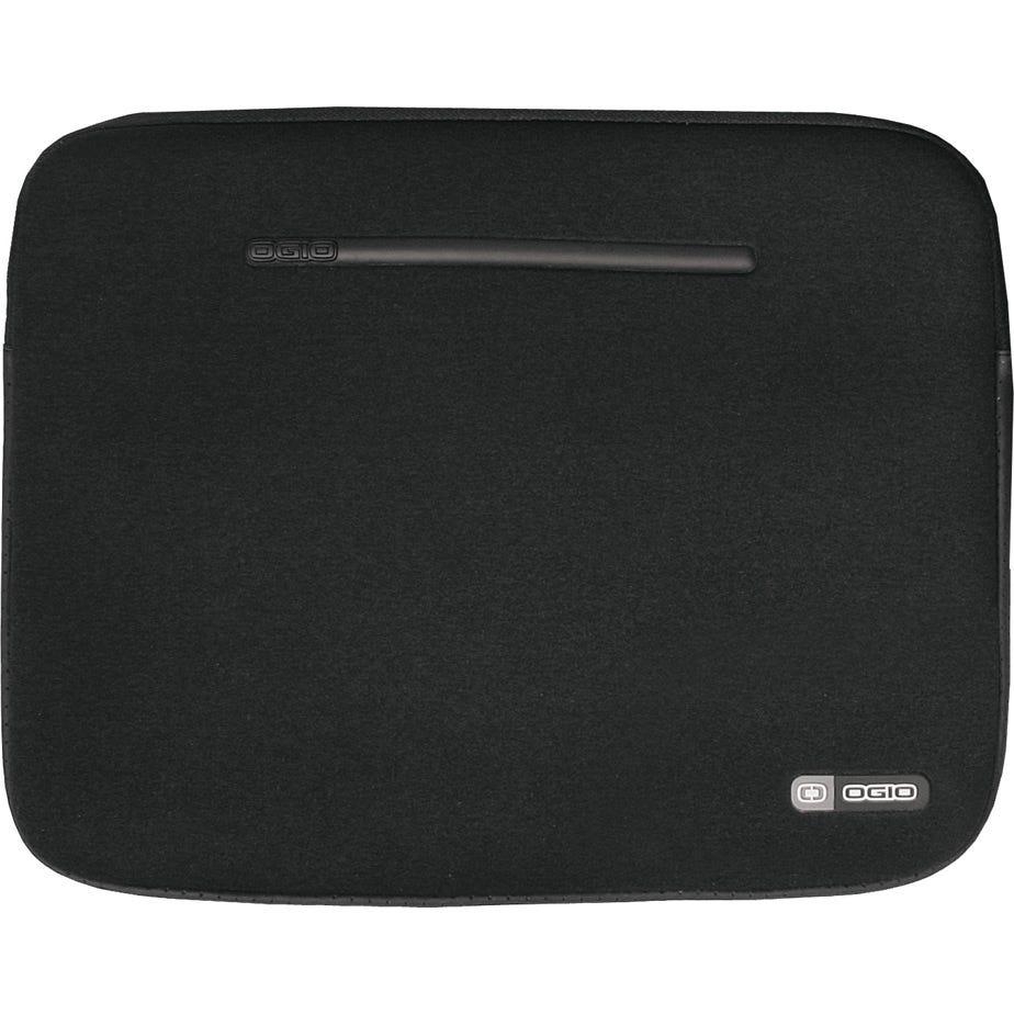 OGIO Neoprene laptop sleeve, 15 inch, black / silver