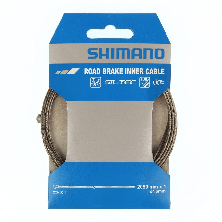 Shimano Dura-Ace Road brake SIL-TEC coated stainless steel inner wire, single