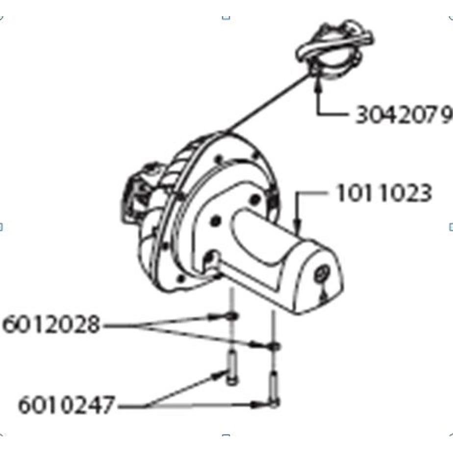 Elite Drive unit for HydroMag or HydroMag Digital, includes resistance adjuster