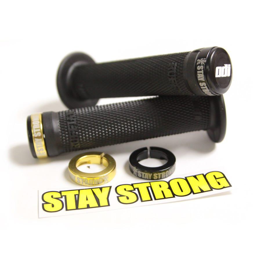 ODI Stay Strong BMX Lock On Grips