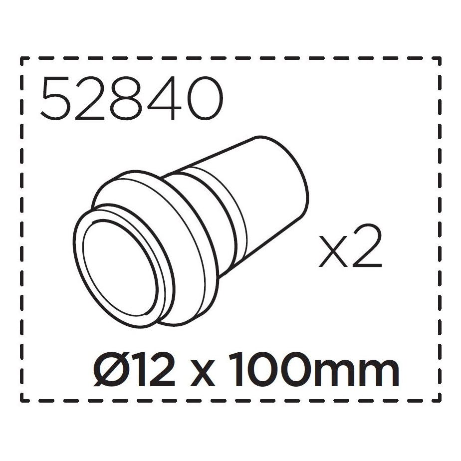 Thule RoundTrip 12 mm Thru Axle Adapter