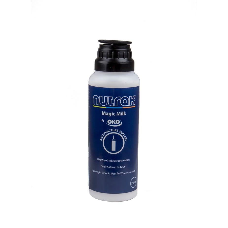 Nutrak Magic Milk tubeless tyre sealant, 250ml