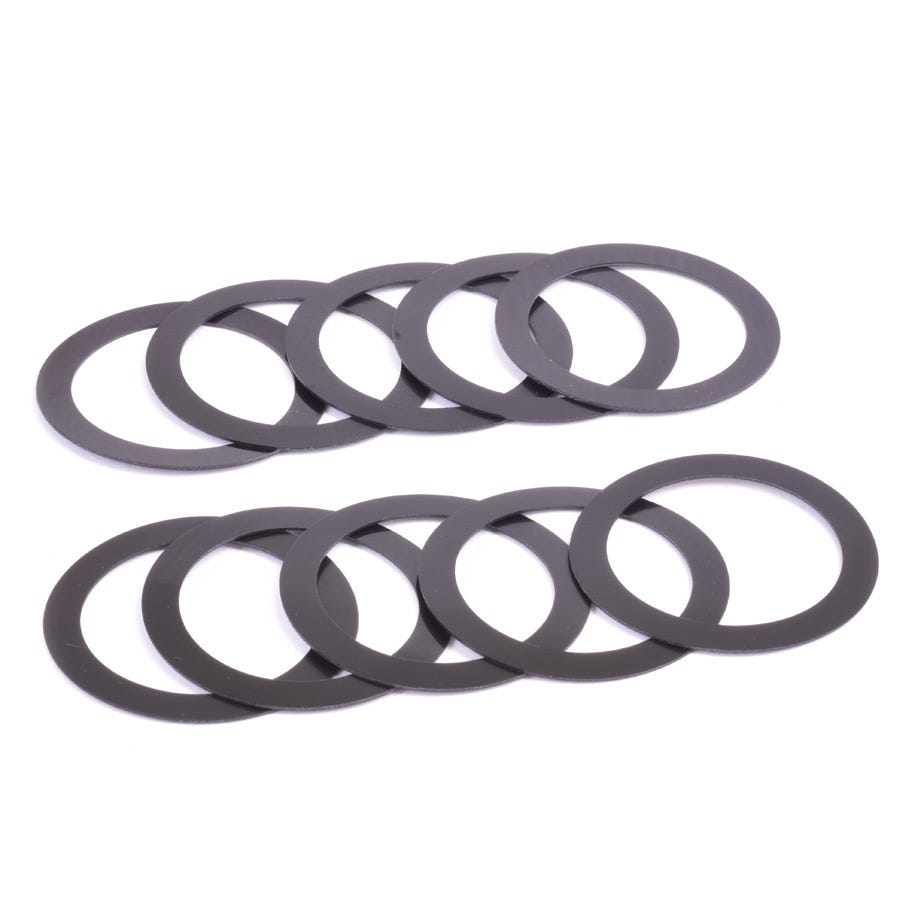 Wheels Manufacturing 29mm ID x 0.5mm Crank Spindle Spacer - 10 Pack