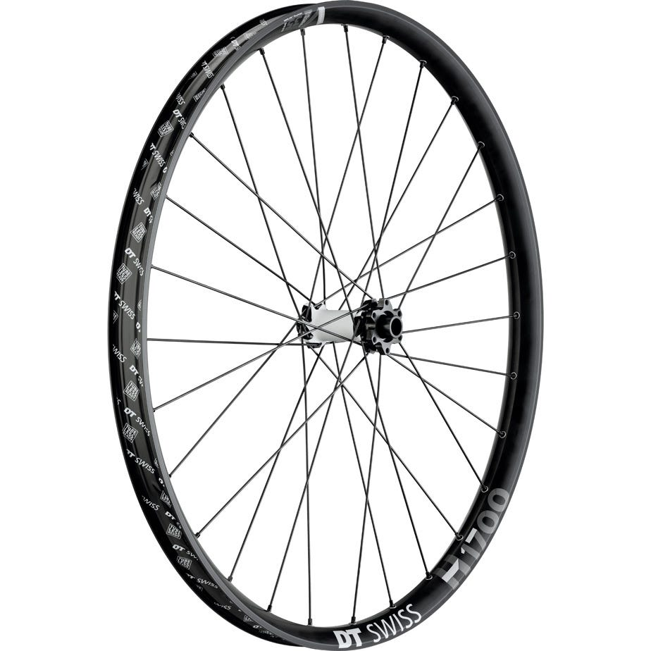 DT Swiss H 1700 Hybrid wheel, 35 mm rim, 15 x 110 m BOOST axle, 27.5 inch front