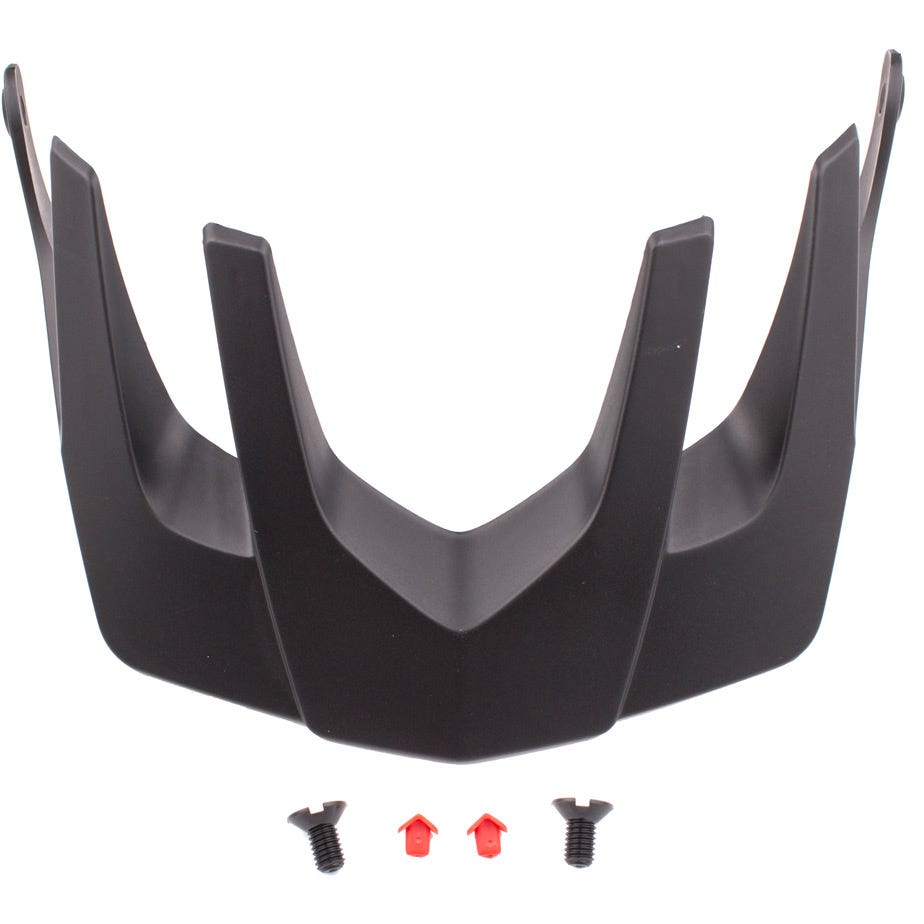 Lazer Revolution Visor, Black, Large