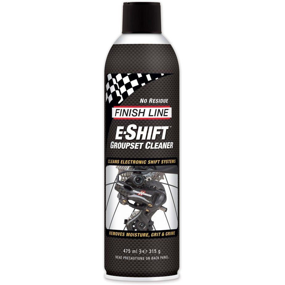 Finish Line E-Shift Groupset Cleaner Aerosol - 16 oz / 550 ml