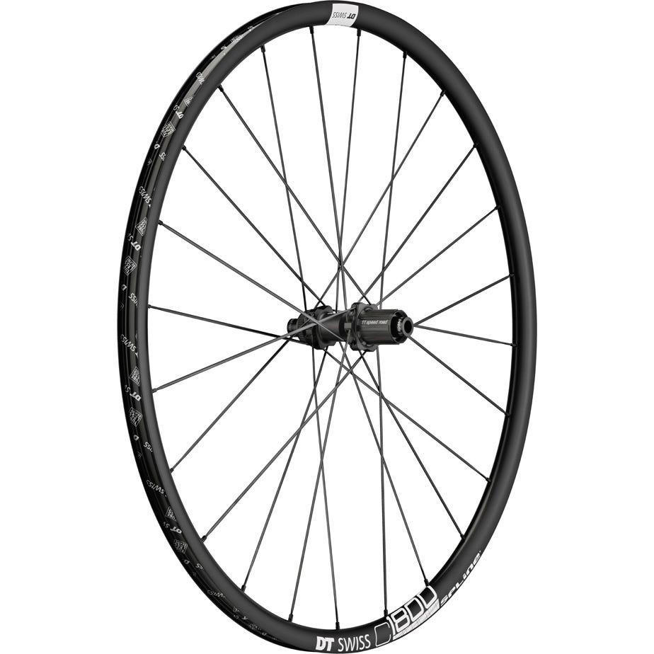 DT Swiss C 1800 SPLINE disc brake wheel, clincher 23 x 22 mm, rear