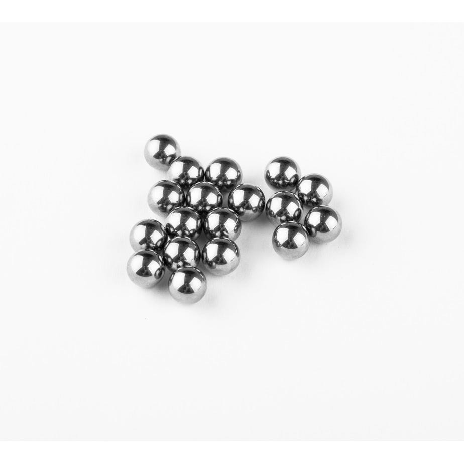Shimano Spares 1/4 inch ball bearings, pack of 18