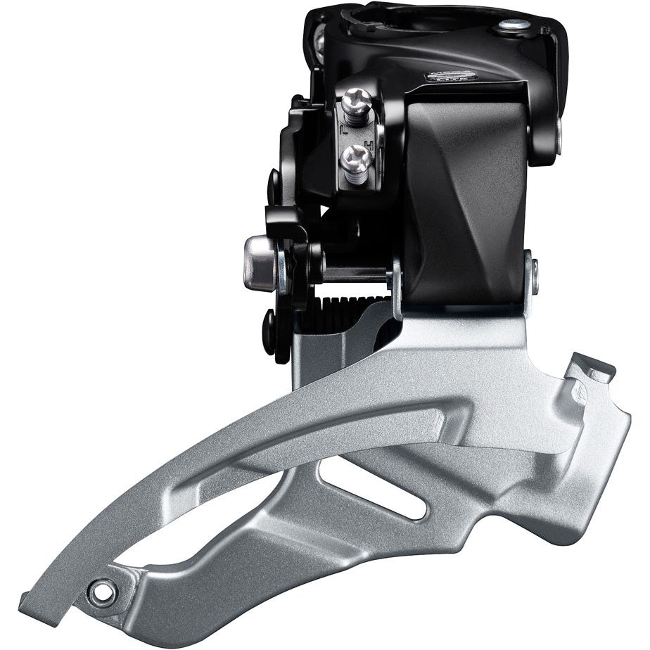 Shimano Altus FD-M2000 Altus 9-speed MTB front derailleur, conventional swing, dual-pull